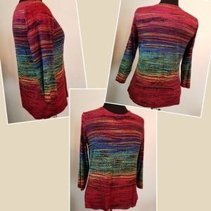 Chico's  3/4 sleeved 94% rayon 6% spandex size 1